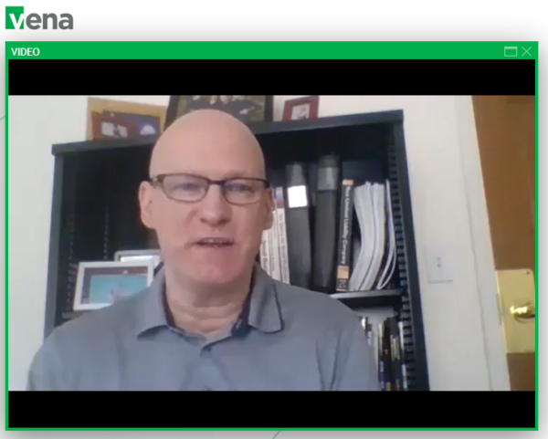Screenshot from Jack McCullough's Secrets of Rockstar CFOs session during Vena Nation 2020