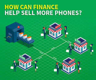 How can finance help sell more phones?