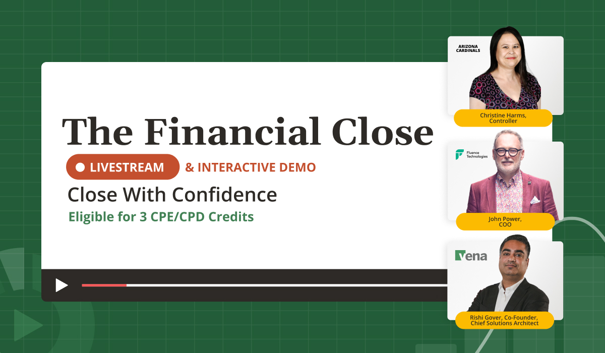 Close With Confidence at The Financial Close Livestream