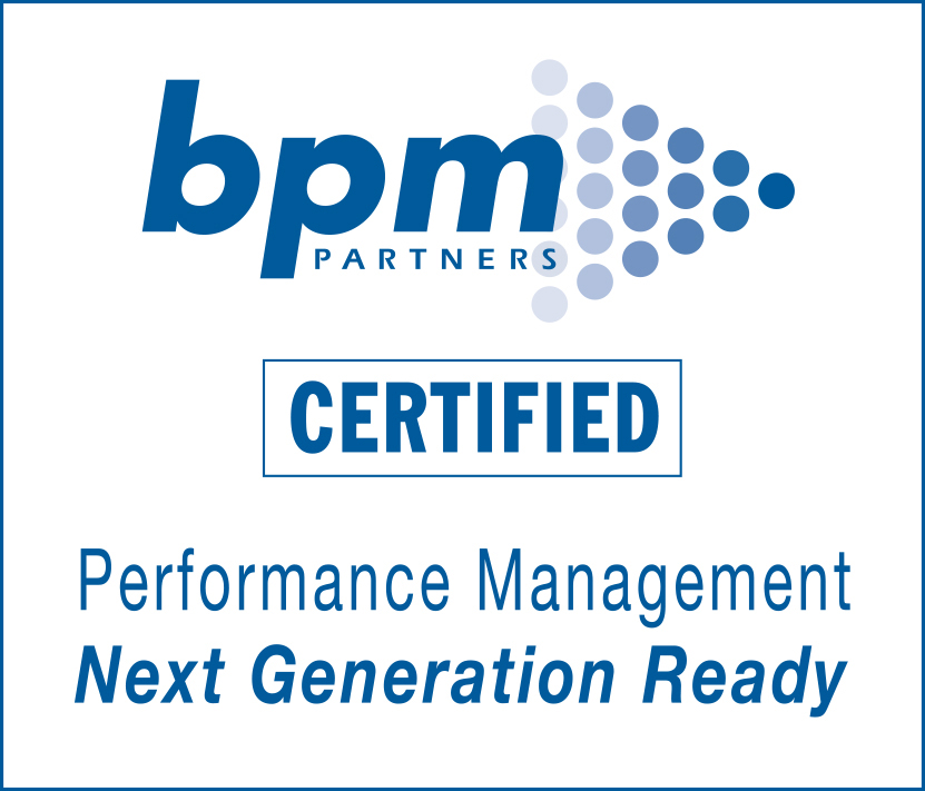 BPM Certified Performance Management Vendor