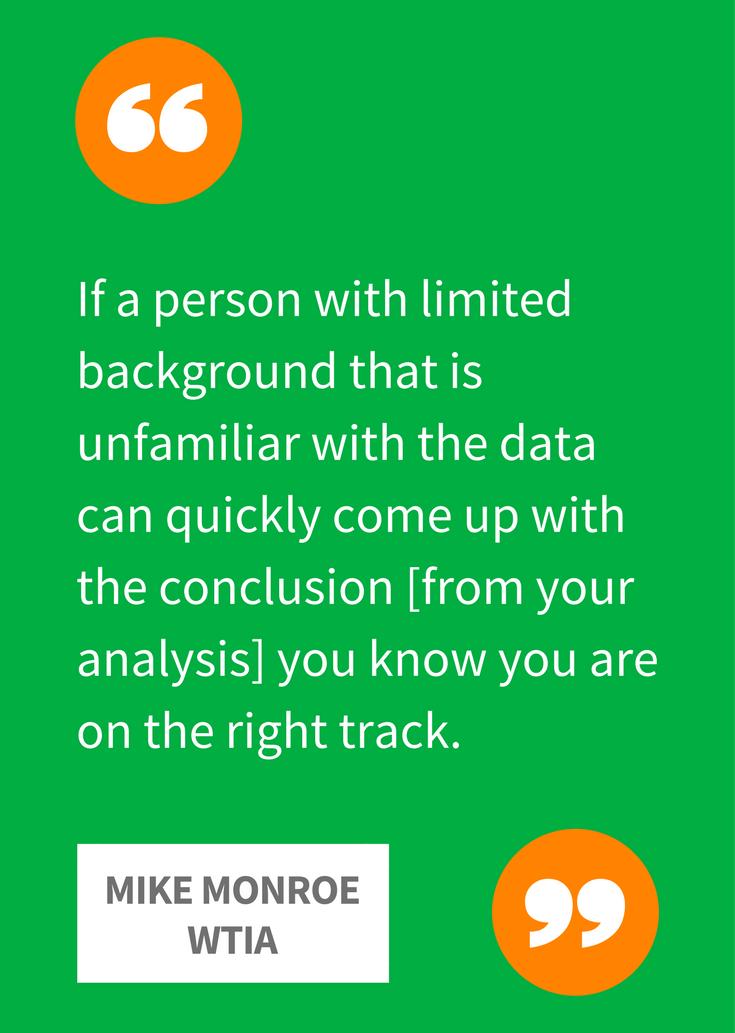 WTIA - target lowest common denominator in reports