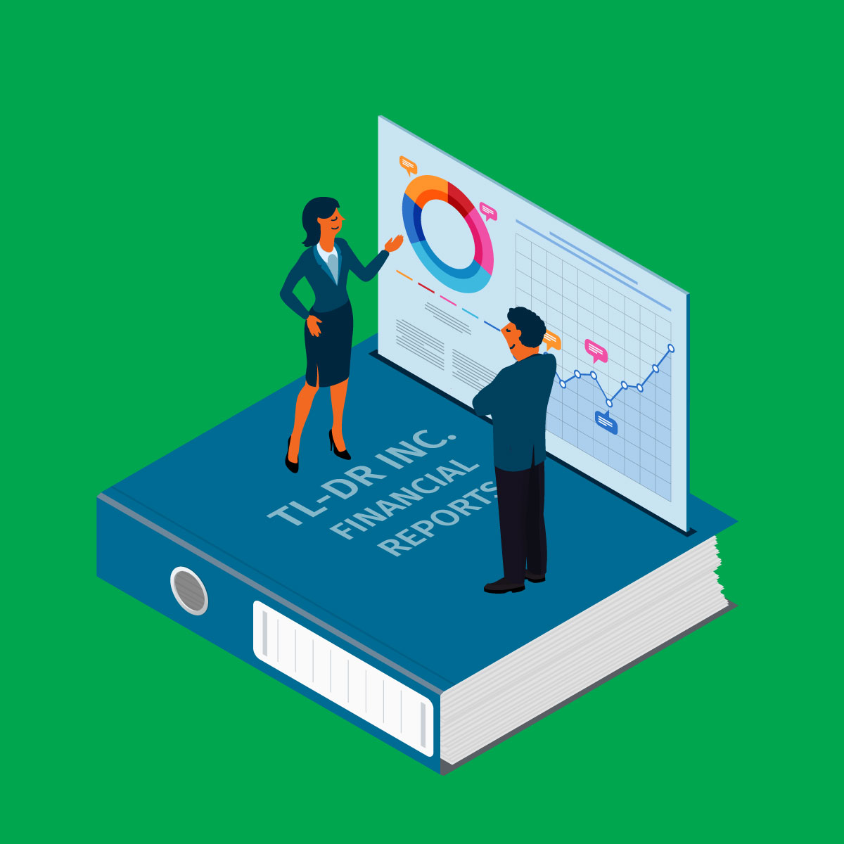 Standard financial statements or quick and easy dashboards?