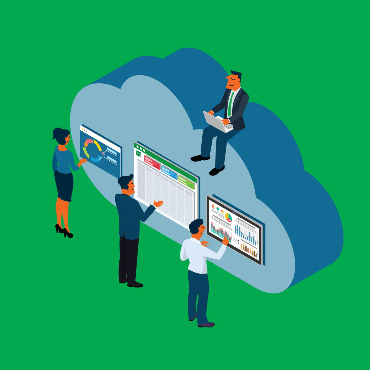 Rolling Forecasts: The Advance of Cloud Technologies
