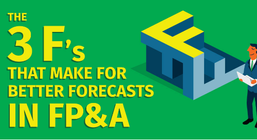 The 3 F's That Make for Better Forecasts in FP&A