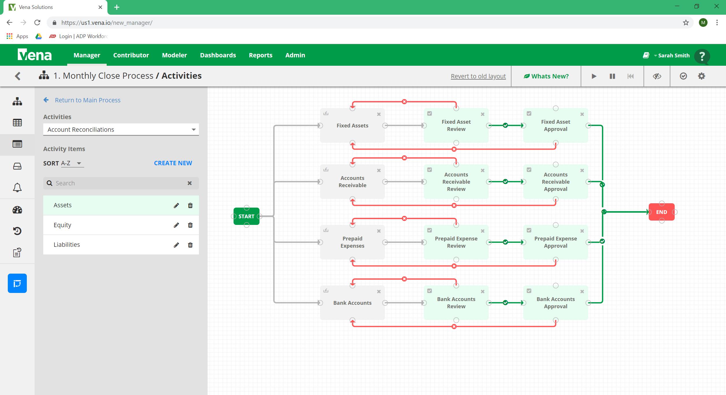 Understanding Account Reconciliation - Account Rec Workflow Designer