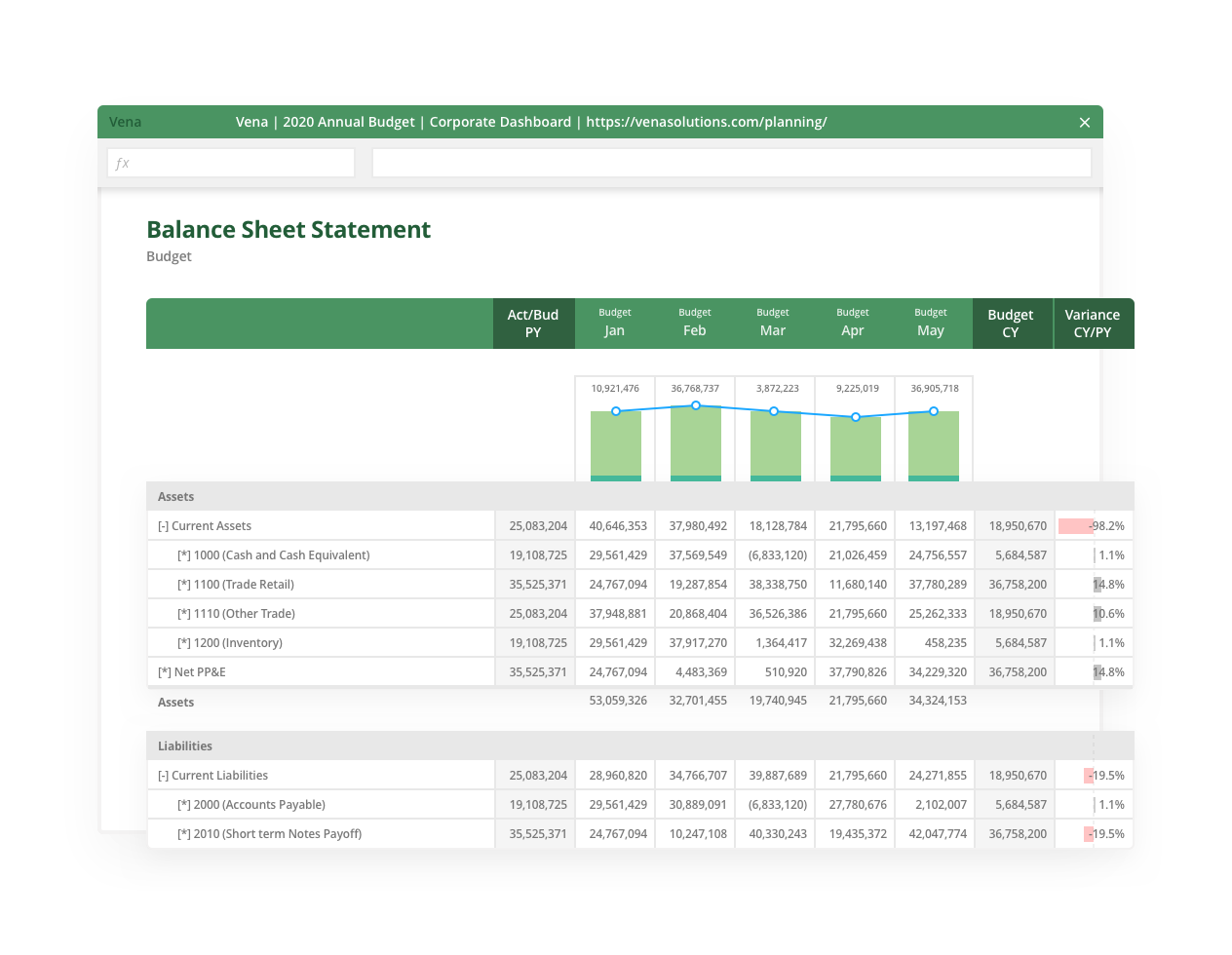 Balance Sheet Statement-HD